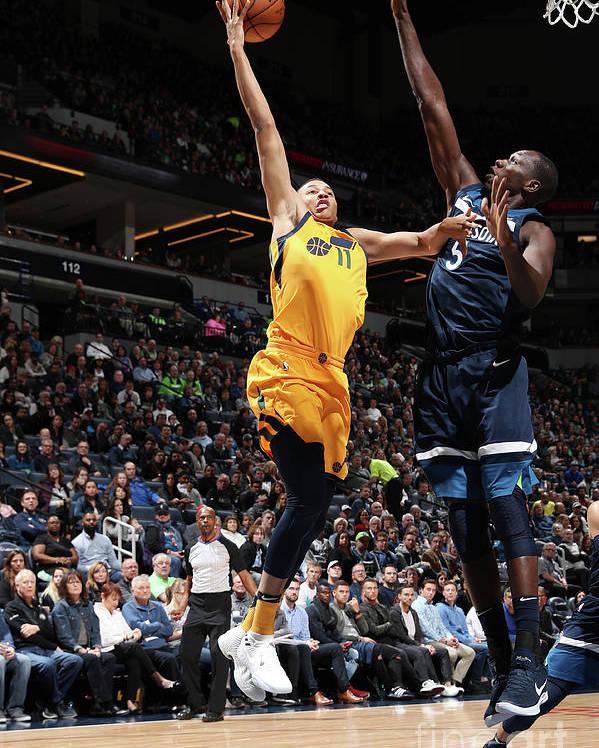 Nba Pro Basketball Poster featuring the photograph Dante Exum by Jordan Johnson