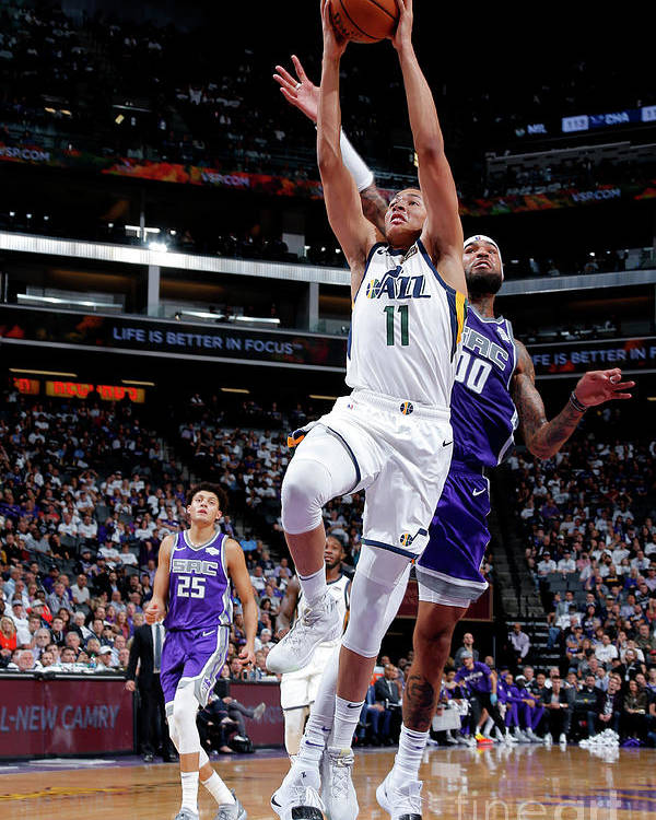 Nba Pro Basketball Poster featuring the photograph Dante Exum by Rocky Widner