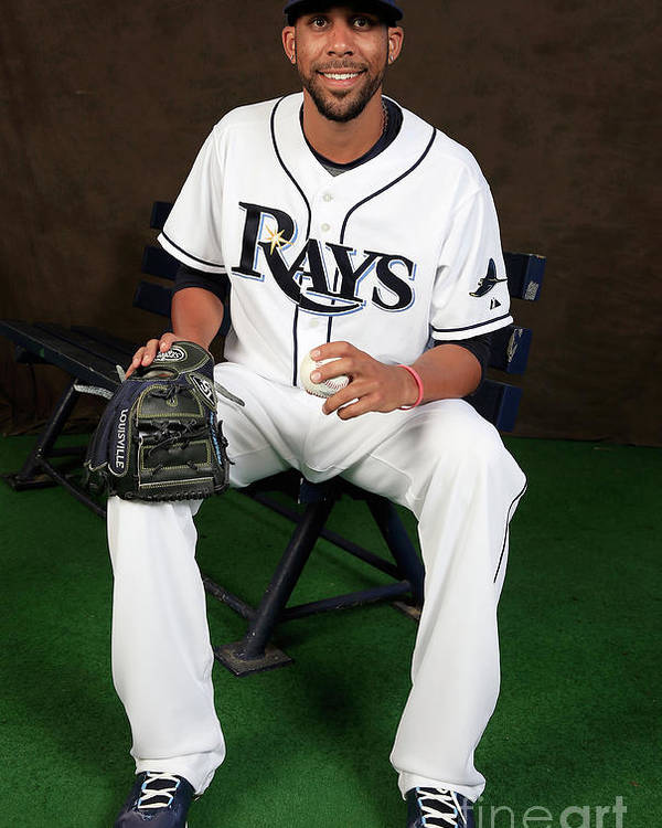 Media Day Poster featuring the photograph David Price by Rob Carr