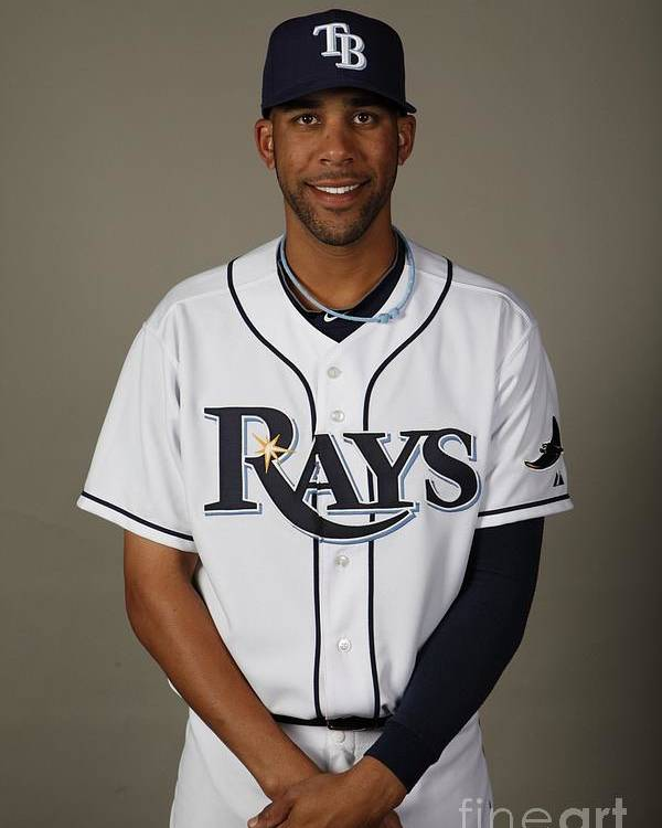 Media Day Poster featuring the photograph David Price by Robert Rogers