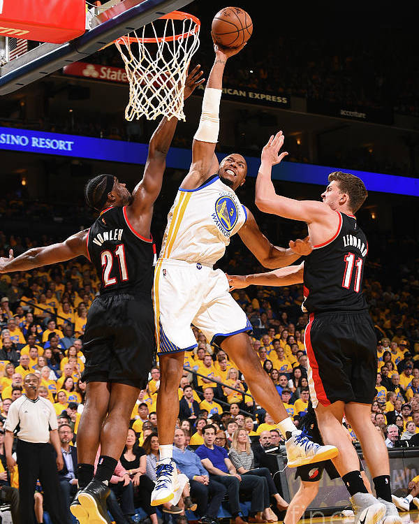 Playoffs Poster featuring the photograph David West by Noah Graham