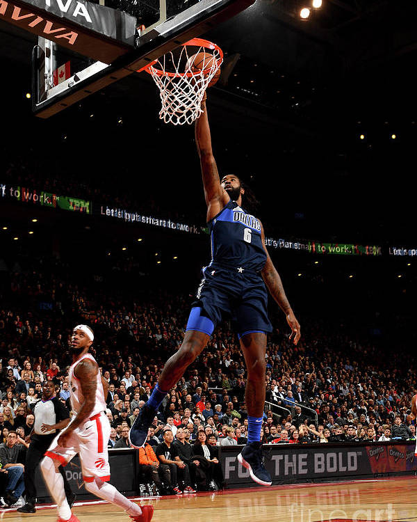 Nba Pro Basketball Poster featuring the photograph Deandre Jordan by Ron Turenne