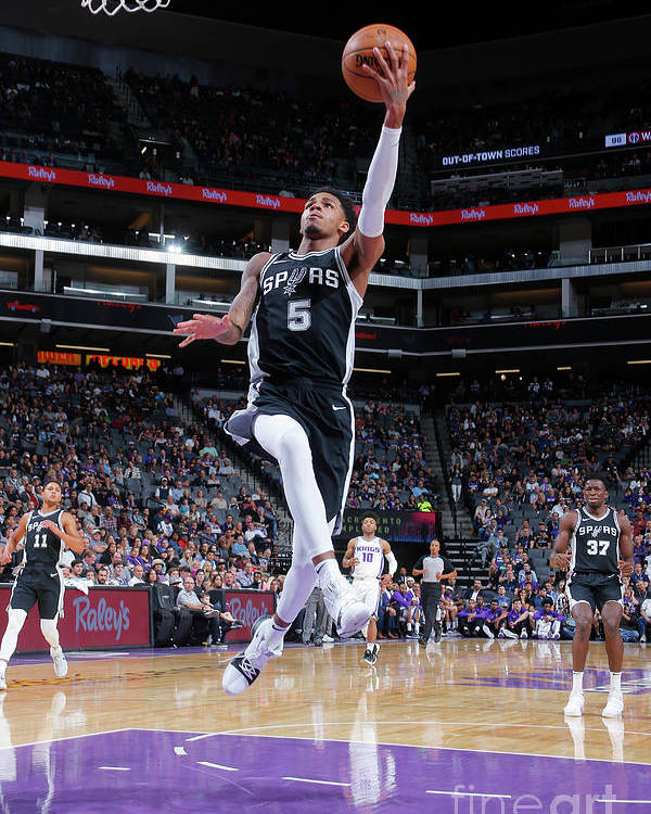 Nba Pro Basketball Poster featuring the photograph Dejounte Murray by Rocky Widner