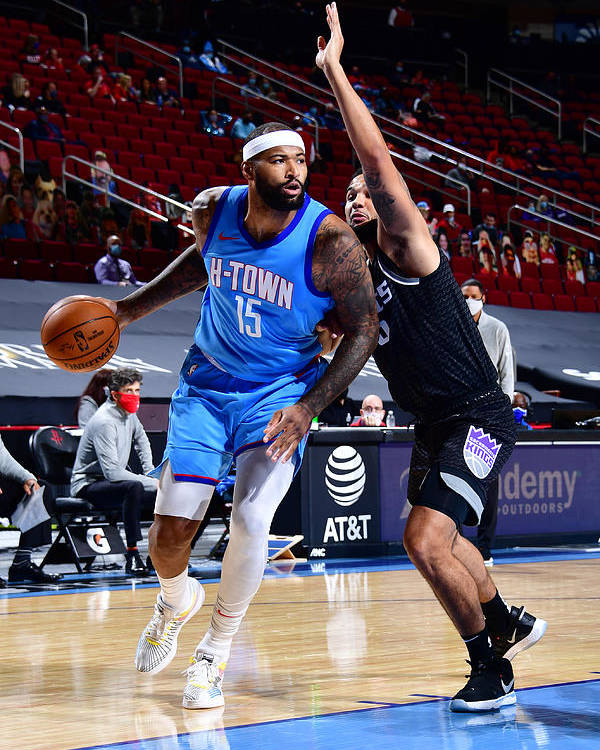 Nba Pro Basketball Poster featuring the photograph Demarcus Cousins by Cato Cataldo