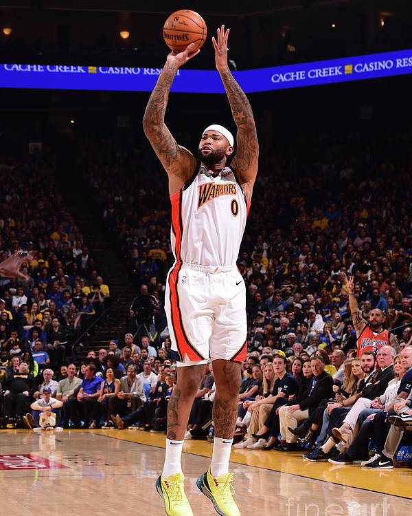 Nba Pro Basketball Poster featuring the photograph Demarcus Cousins by Noah Graham