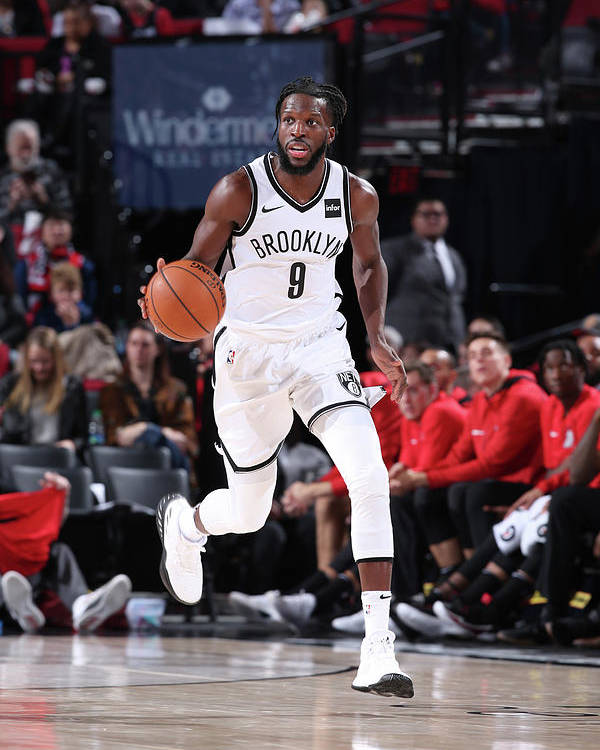 Nba Pro Basketball Poster featuring the photograph Demarre Carroll by Sam Forencich