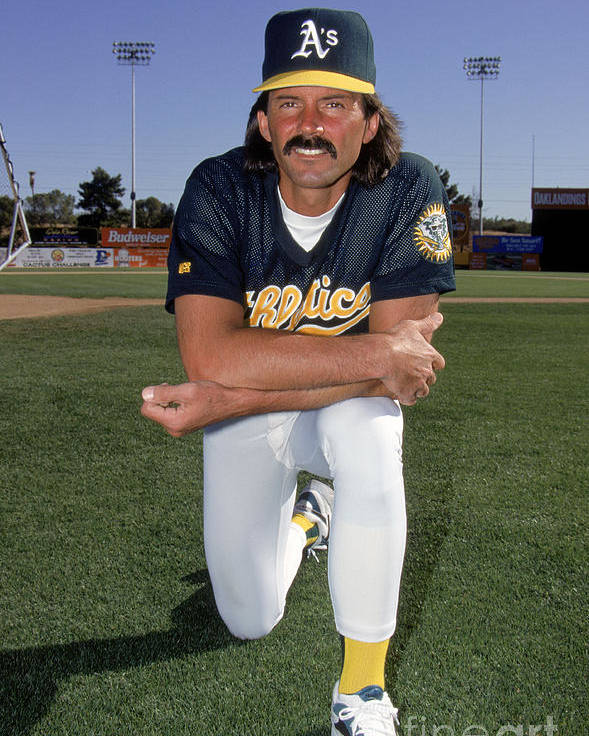 1980-1989 Poster featuring the photograph Dennis Eckersley by Don Smith