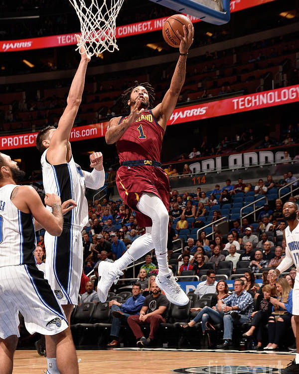 Nba Pro Basketball Poster featuring the photograph Derrick Rose by Gary Bassing