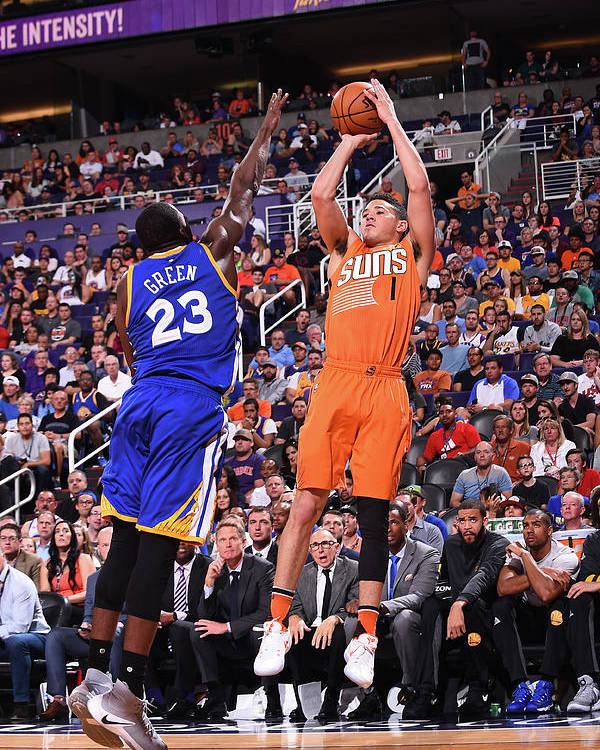 Nba Pro Basketball Poster featuring the photograph Devin Booker by Noah Graham