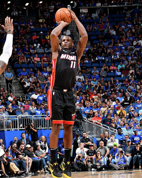 Nba Pro Basketball Poster featuring the photograph Dion Waiters by Fernando Medina