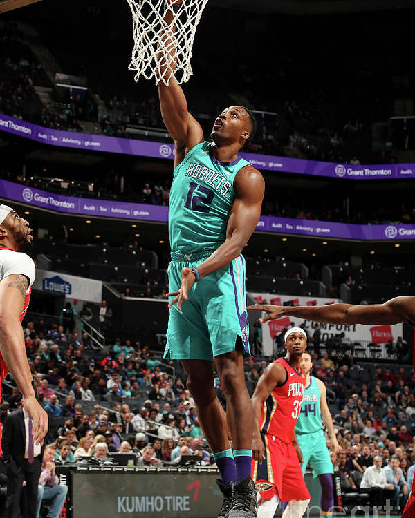 Nba Pro Basketball Poster featuring the photograph Dwight Howard by Kent Smith