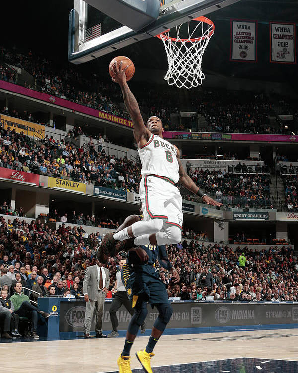 Nba Pro Basketball Poster featuring the photograph Eric Bledsoe by Ron Hoskins