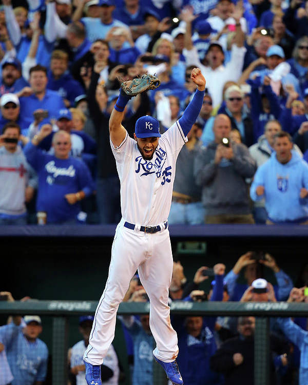 American League Baseball Poster featuring the photograph Eric Hosmer by Dilip Vishwanat