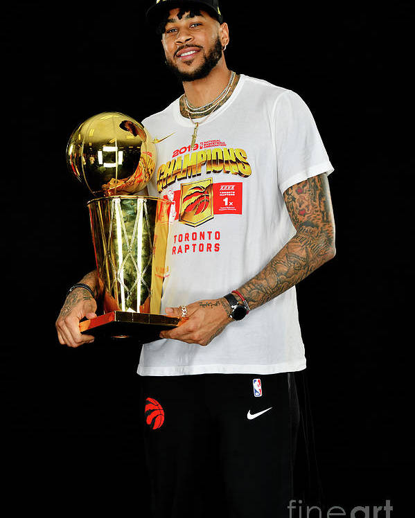 Playoffs Poster featuring the photograph Eric Moreland by Jesse D. Garrabrant