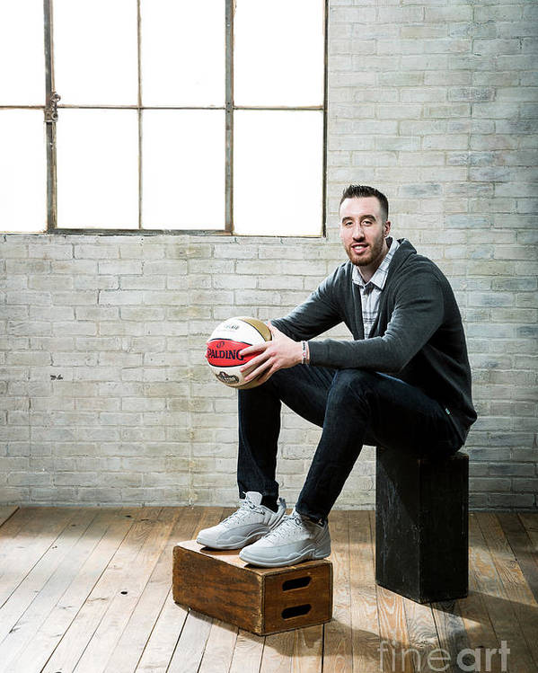 Nba Pro Basketball Poster featuring the photograph Frank Kaminsky by Nathaniel S. Butler