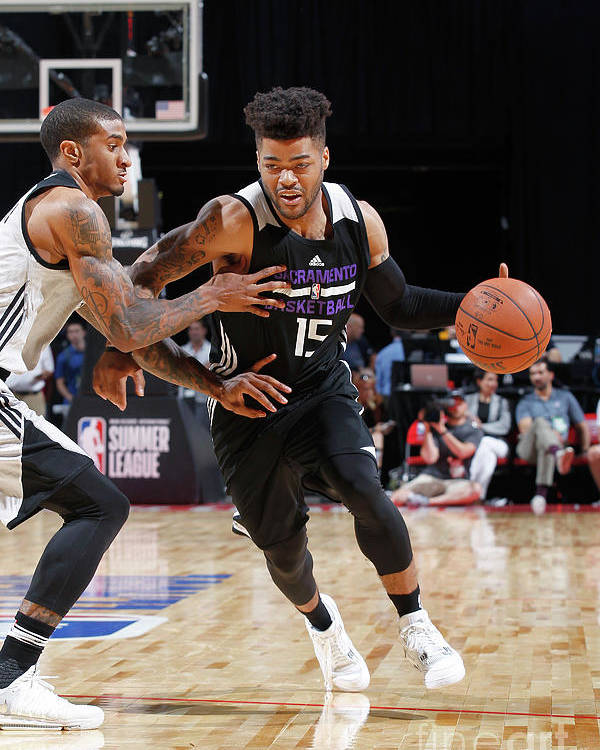 Nba Pro Basketball Poster featuring the photograph Frank Mason by Jack Arent