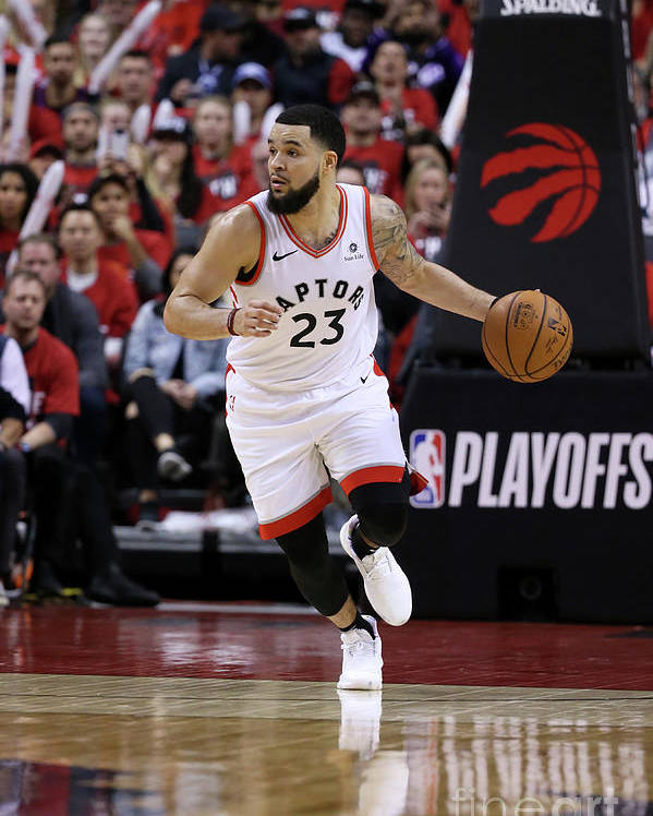 Playoffs Poster featuring the photograph Fred Vanvleet by David Sherman