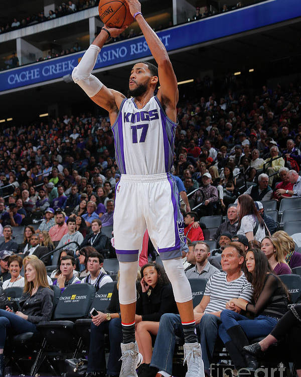 Nba Pro Basketball Poster featuring the photograph Garrett Temple by Rocky Widner