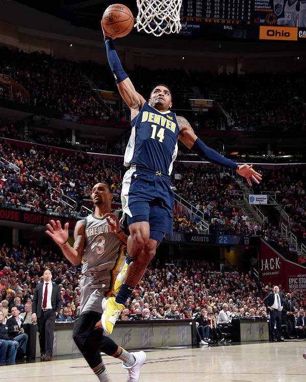 Nba Pro Basketball Poster featuring the photograph Gary Harris by David Liam Kyle