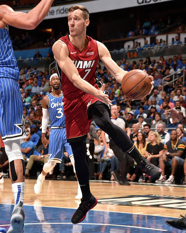 Nba Pro Basketball Poster featuring the photograph Goran Dragic by Gary Bassing