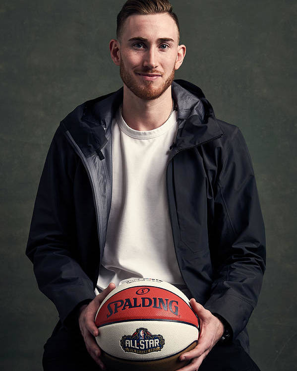 Event Poster featuring the photograph Gordon Hayward by Jennifer Pottheiser