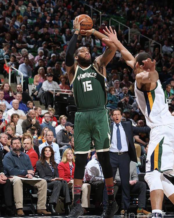 Nba Pro Basketball Poster featuring the photograph Greg Monroe by Melissa Majchrzak