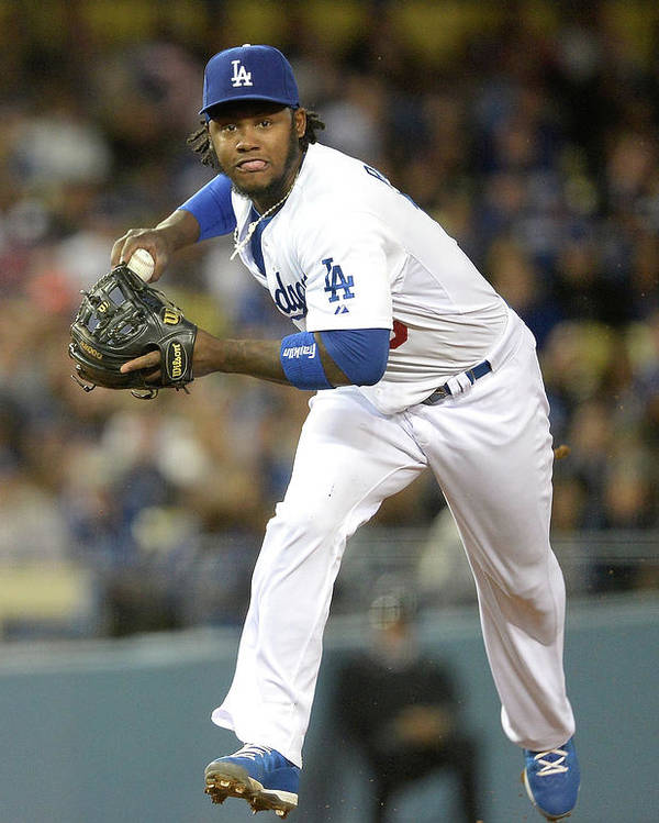 California Poster featuring the photograph Hanley Ramirez by Harry How