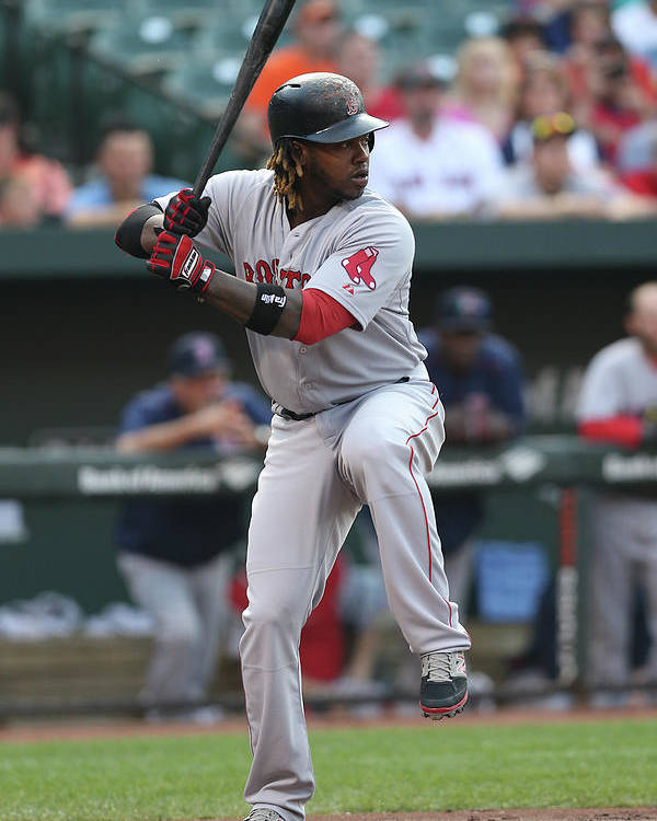 People Poster featuring the photograph Hanley Ramirez by Patrick Smith