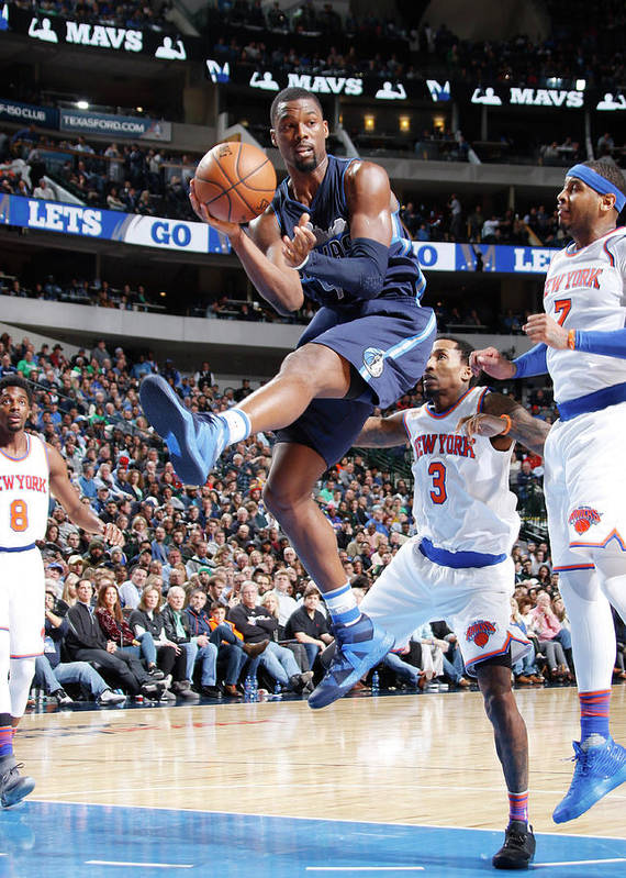 Nba Pro Basketball Poster featuring the photograph Harrison Barnes by Danny Bollinger