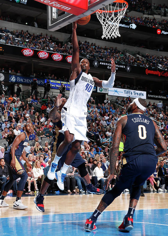 Nba Pro Basketball Poster featuring the photograph Harrison Barnes by Glenn James