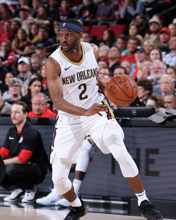 Nba Pro Basketball Poster featuring the photograph Ian Clark by Sam Forencich