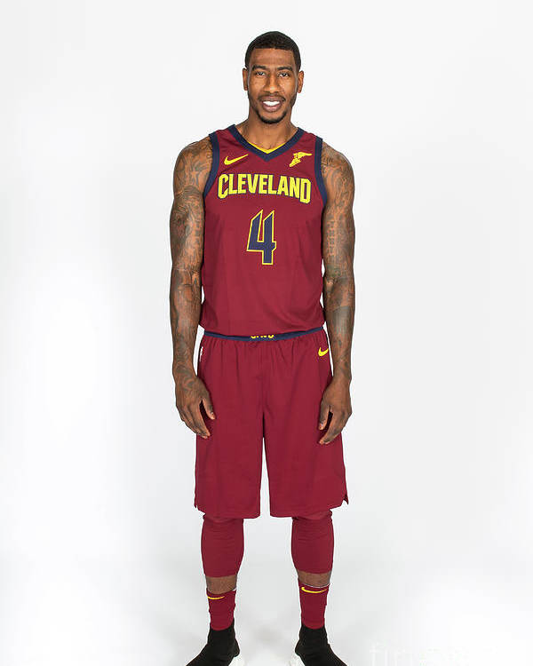Media Day Poster featuring the photograph Iman Shumpert by Michael J. Lebrecht Ii