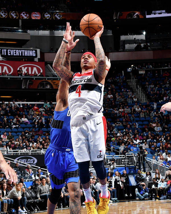 Nba Pro Basketball Poster featuring the photograph Isaiah Thomas by Fernando Medina