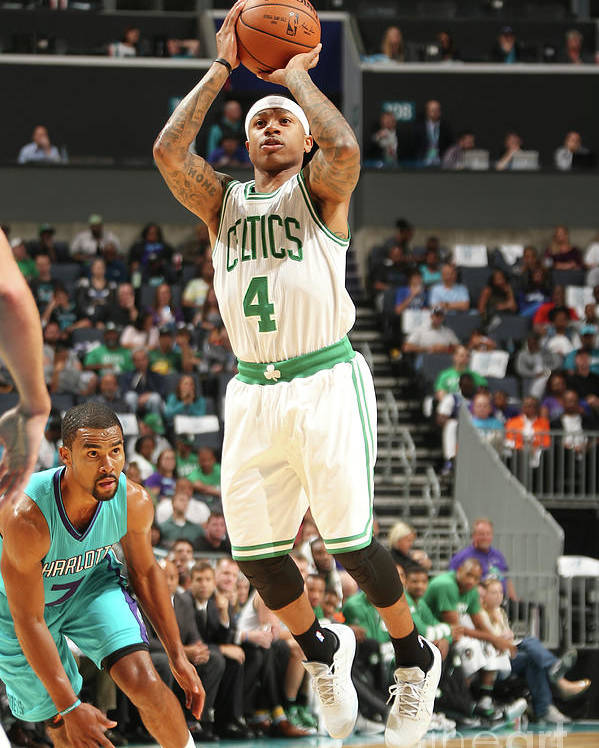 Nba Pro Basketball Poster featuring the photograph Isaiah Thomas by Kent Smith