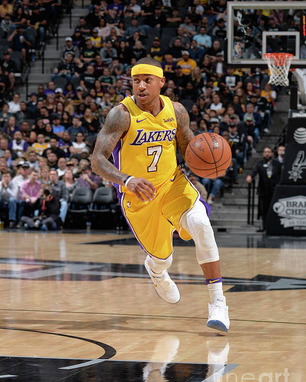 Nba Pro Basketball Poster featuring the photograph Isaiah Thomas by Mark Sobhani