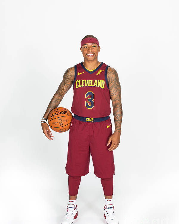 Media Day Poster featuring the photograph Isaiah Thomas by Michael J. Lebrecht Ii