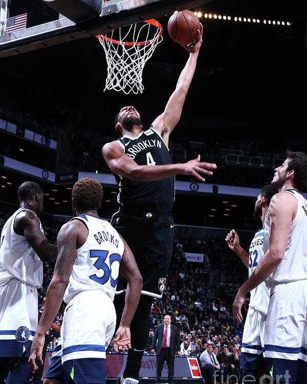 Nba Pro Basketball Poster featuring the photograph Jahlil Okafor by Nathaniel S. Butler