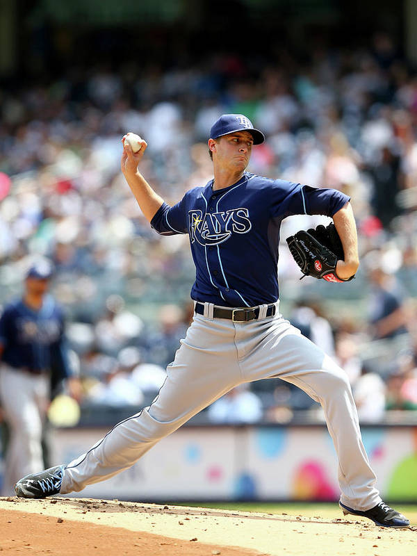 American League Baseball Poster featuring the photograph Jake Odorizzi by Elsa