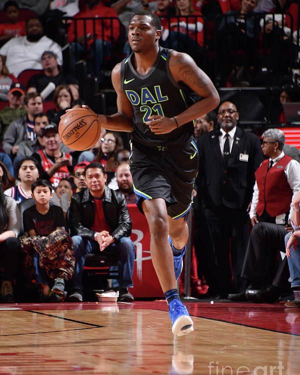 Nba Pro Basketball Poster featuring the photograph Jalen Jones by Bill Baptist