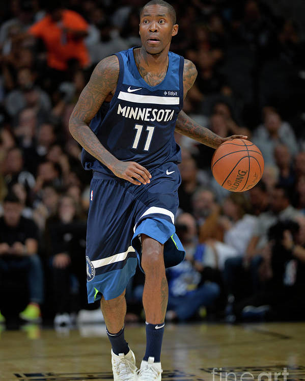 Nba Pro Basketball Poster featuring the photograph Jamal Crawford by Mark Sobhani