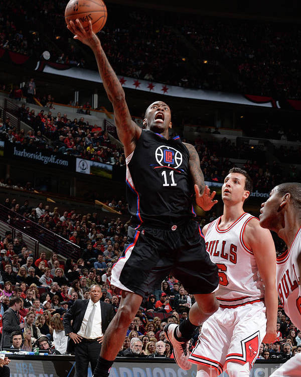 Nba Pro Basketball Poster featuring the photograph Jamal Crawford by Randy Belice