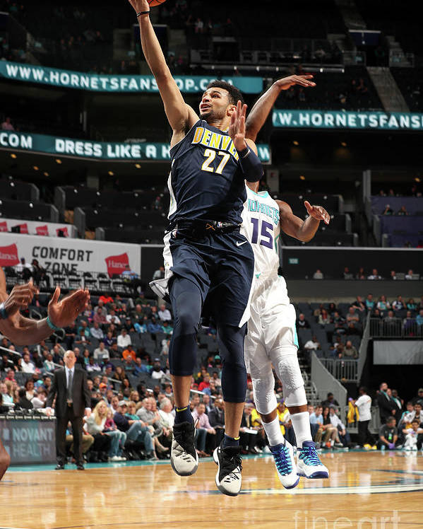 Nba Pro Basketball Poster featuring the photograph Jamal Murray by Kent Smith