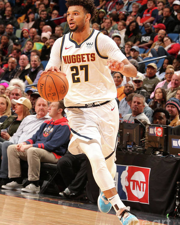 Smoothie King Center Poster featuring the photograph Jamal Murray by Layne Murdoch Jr.