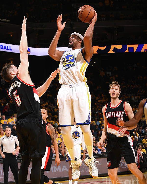 Playoffs Poster featuring the photograph James Michael Mcadoo by Noah Graham