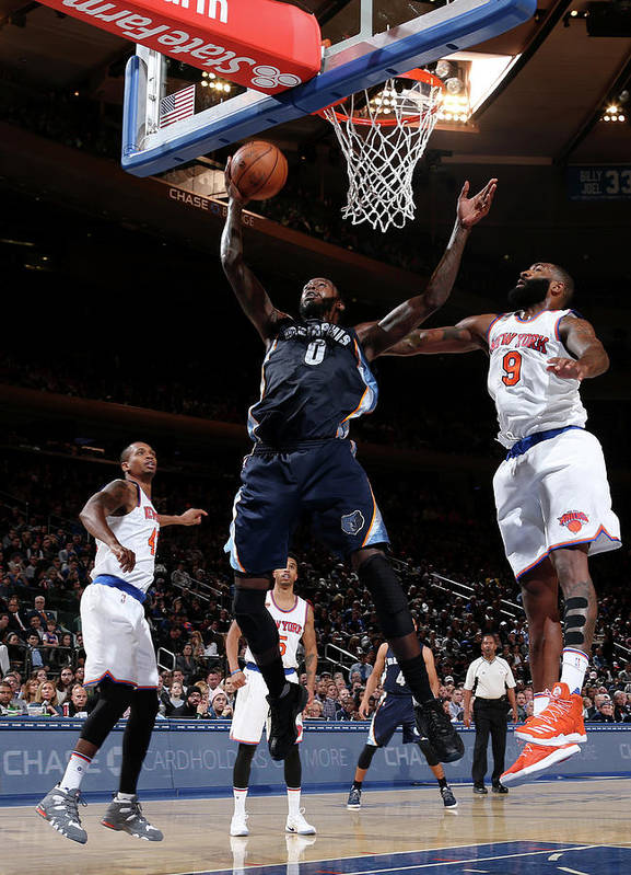 Nba Pro Basketball Poster featuring the photograph Jamychal Green by Nathaniel S. Butler