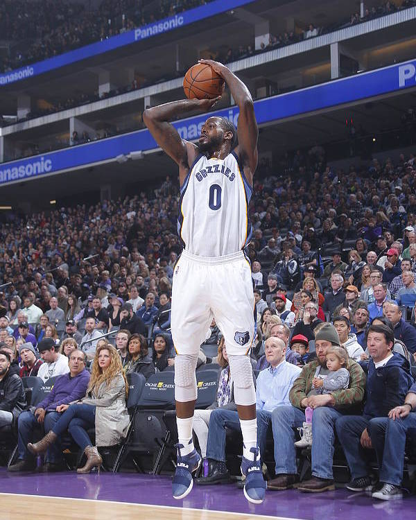 Nba Pro Basketball Poster featuring the photograph Jamychal Green by Rocky Widner