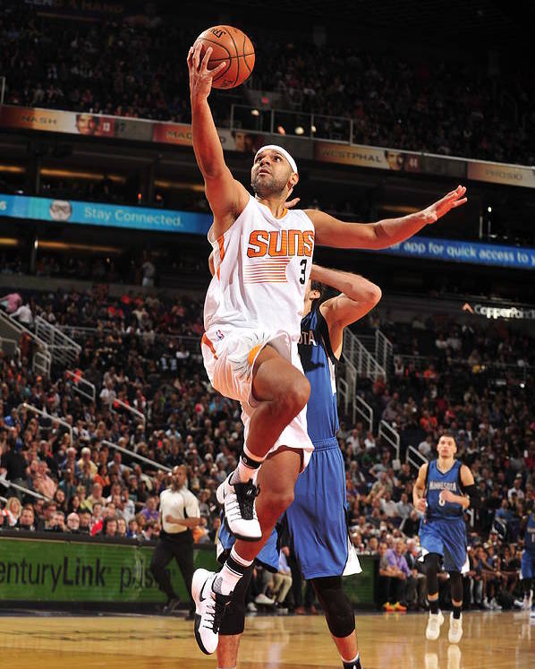 Nba Pro Basketball Poster featuring the photograph Jared Dudley by Barry Gossage