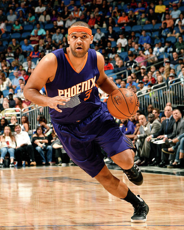 Nba Pro Basketball Poster featuring the photograph Jared Dudley by Fernando Medina
