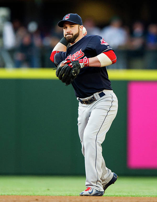 People Poster featuring the photograph Jason Kipnis by Rich Lam