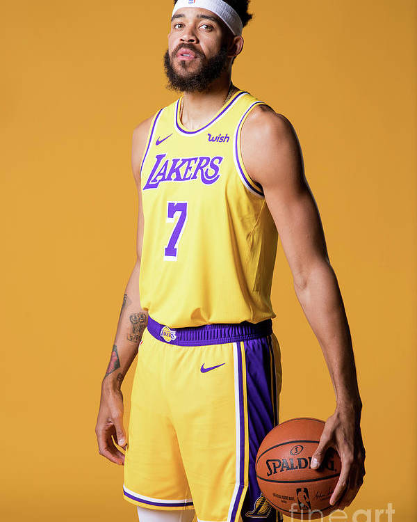 Media Day Poster featuring the photograph Javale Mcgee by Atiba Jefferson
